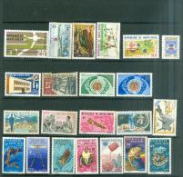 22 Timbres De Haute Volta Neuf Sans Gomme , Tout état   - Po42501 - Upper Volta (1958-1984)