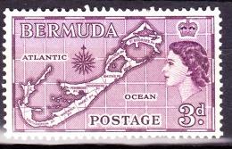 Bermuda, 1953, SG 140, Mint Hinged - Bermudes