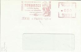 Lettre  EMA Havas BL Relais De Mesure Sensitact  Telemesures Automatisme  Electricité  Themes 75 Paris  A12/17 - Electricidad