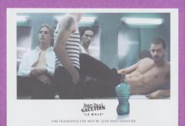 F-Carte à Sprayer   J.P Gaultier - Le Male - Perfume Card - Asie - Cartes Parfumées