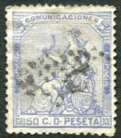 Edifil 137, 50 Cts Ultramar De 1873 Usado - Usados