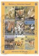 Niger Minipliego USADO Nº 6 - Sellos