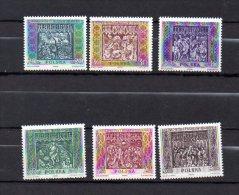 POLOGNE -  N° 1044 / 49   --  Sculpture De Cracovie - Unused Stamps