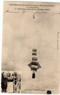 REIMS DEUXIEME GRANDE SEMAINE D'AVIATION DE CHAMPAGNE 3/07/1910 CERF-VOLANT MONTE PAR LE CAPITAINE MADIOT - Reims