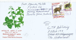 Ethiopia 2012 Yabelo Postal Agency Bushbuck Cover - Ethiopië