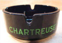 CENDRIER CHARTREUSE / EN VERRE FRANCE - Cendriers