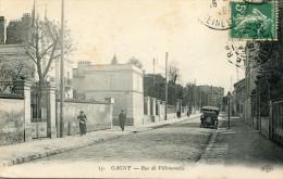 CPA 93 GAGNY RUE DE VILLEMOMBLE 1915 Vieilles Voitures - Gagny