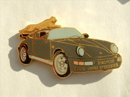 Pin´s PORSCHE TURBO SPEEDSTER - Porsche
