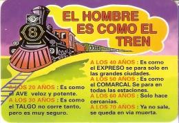 CALENDARIO DEL AÑO 2009 DE UN TREN (TRAIN-ZUG) (CALENDRIER-CALENDAR) - Calendarios