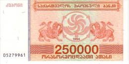 GEORGIE   250 000 Laris  Emission De 1994  Pick 50         ***** BILLET  NEUF ***** - Géorgie