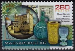 Glass / Jug / History Museum Sárospatak - Hungary 2011 - Used - Vetri & Vetrate