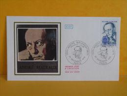 FDC- André Malraux - Paris - 24.11.1979 - 1er Jour, - 1970-1979