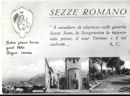LAZIO-LATINA- SEZZE ROMANO VEDUTE MULTIPLE - Latina