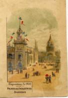 Exposition Universelle Paris 1900- Palais Des Industries Diverses - Artis Historia