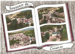 CHAMPLAN ..MULTIVUES .. LAPIE - Francia