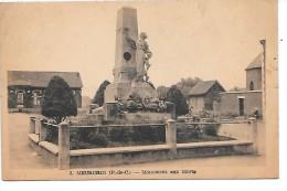 MEURCHIN - Monument Aux Morts - France