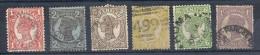 140011356  QUEENSLAND  YVERT  Nº  79/81/82/83/85/86 - 1860-1909 Queensland