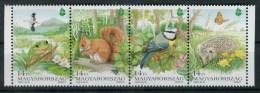 Hongrie 1995 - Bande De 4 - N° 3506 à 3509 - Faune - Neuf ** - Nuovi