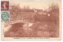 TOUQUIN - Le Buisson - Pont Sur L'Yerres En Automne - France