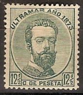 Isla De Cuba 026 * Amadeo. 1873. Charnela. - Cuba (1874-1898)