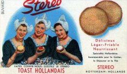 BUVARD- TOAST HOLLANDAIS- STEREO - Biscottes