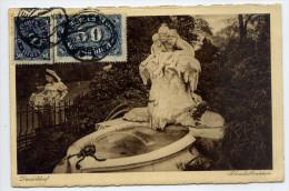 Allemagne--DUSSELDORF--19 23--Polondatbrunnen (animée,enfants En Bon Plan,grenouille,affranchi Ssement)--pas Courante - Düsseldorf