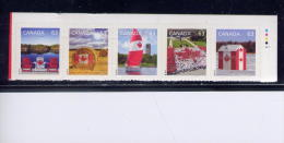 CANADA, 2013, #2616c,  0.63 STAMP,  CANADA PRIDE 2013, Half Bklt   Top Of Pane - Carnets