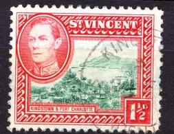 St Vincent, 1938, SG 151, Used - St.Vincent (...-1979)