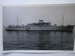 "OLD USSR PC - Motor Ship - Postcard Dizel-elektrokhod ""Rossiya""  1951 - Schiffe"
