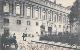 PARIS 2°  Rue De Richelieu  BIBLIOTHEQUE NATIONALE  KIOSQUE à JOURNAUX  Animation En 1907 - Distretto: 02