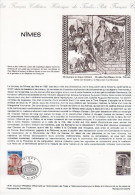 """★  1981 : Document Philatélique Officiel N° 14-81 """" NIMES """". N° YT 2133. Parfait état - Documents De La Poste"""