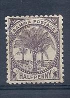140011408  SAMOA N. ZELANDA  YVERT  Nº  8B  */MH - Samoa