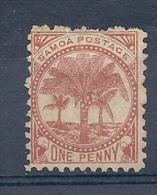 140011409  SAMOA N. ZELANDA  YVERT  Nº  11  */MH - Samoa