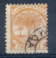 140011410  SAMOA N. ZELANDA  YVERT  Nº  12B - Samoa