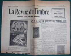 LA REVUE DU TIMBRE - Du 15 Avril 1959 - N° 8 (82) - 8ème Année - Fachliteratur