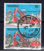 WAN Nigeria 1986 Mi 485 Steinbruch - Nigeria (1961-...)