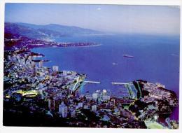 Postcard Monaco, Alpes Maritimes, Used - Panoramic Views