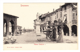 "CPA - ITALIE : Desenzano - ""Piazza Umberto I"" - Italie"