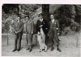"""NAMUR - 4 élèves De L'athénée En 1937 - Probalement Les Responsables Du """"FAUCON"""" - Personnes Anonymes"""