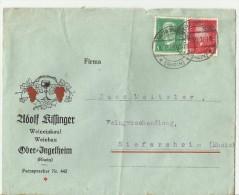 DE 1929  BRIFE MANGEL - Deutschland