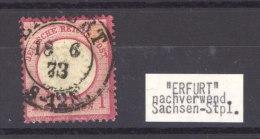 Allemagne  -  Reich  :  Mi   19  (o)  Obl. Erfurt Saxe - Deutschland