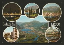 Lecco - Città - Saluti - Vedute - Formato Grande - Lecco