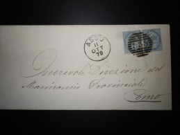 ANNULLI LOMBARDIA: NUMERALE ASSO Como - 1861-78 Vittorio Emanuele II