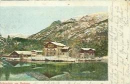 Weihnachten Am Badersee 31.8.1901 Nach München - Noël