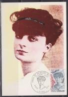 = Carte Postale Anna De Noailles 1er Jour Paris 06 11 1976 N°1898 Romancière Et Poète 1876-1933 - Schriftsteller