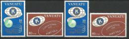 """Vanuatu YT 613 à 616 """" Convention """" 1980 Neuf** - Vanuatu (1980-...)"""