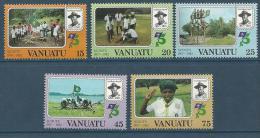 """Vanuatu YT 657 à 661 """" Scoutisme """" 1982 Neuf** - Vanuatu (1980-...)"""