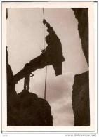 PHOTO ALPINISME TRES BEAU PLAN 8&9 OCTOBRE 1949 GRANDE FACE DU RENARD,BEAU PLAN!! REF2902 - Escalade