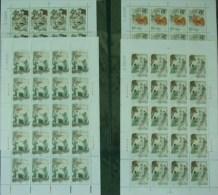 China 2001-26 Folk Story- White Snake Stamps Sheets Monk Myth Umbrella Bridge Medicine Drug - 1949 - ... People's Republic