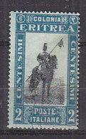 PGL BZ089 - COLONIE ITALIANE ERITREA SASSONE N°155 - Erythrée